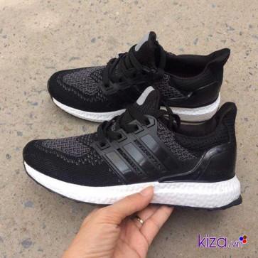 Giày adidas ultra boost phối màu đen xám 2