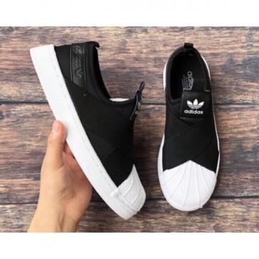 Giày Adidas sò chéo đen 01