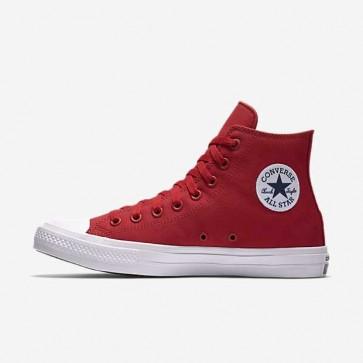 Giày converse chuck taylor 2 màu đỏ cổ cao 33