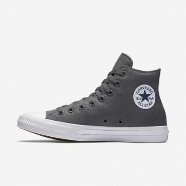 Giày converse chuck taylor 2 màu xám cao cổ 66