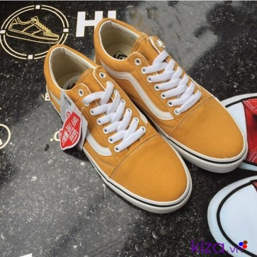 giày vans old skool màu vàng giá rẻ đẹp 001