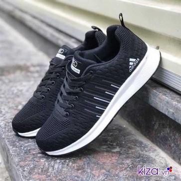 Giày Adidas NEO màu đen kẻ sọc 002