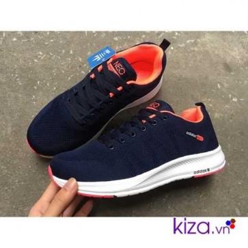 giày adidas neo màu navy cam
