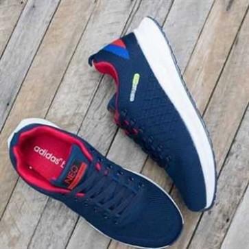 giày adidas neo giá rẻ màu navy đỏ 001