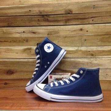 Giày Converse Classic cao cổ màu Xanh Navy 33