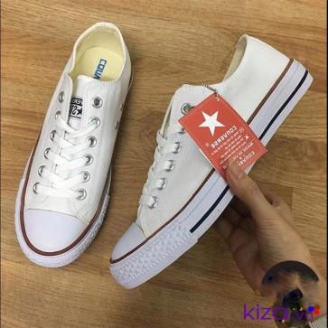 Giày converse classic thấp cổ trắng