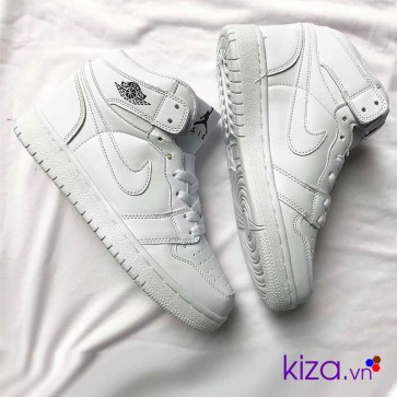 Giày Nike Jordan 1 màu trắng 2018 3
