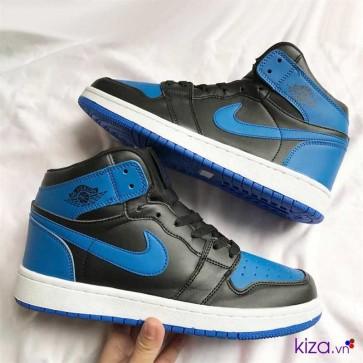 Giày Nike Jordan 1 phối màu xanh đen đẹp giá rẻ