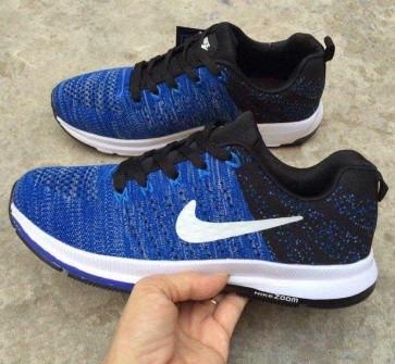 Giày nike zoom phối màu xanh đen