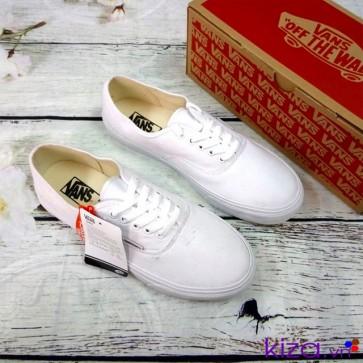 Giày vans classic trắng nam nữ
