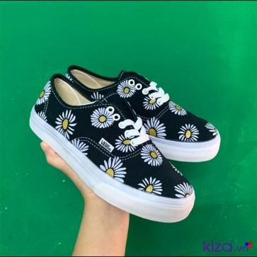 Giày vans hoa cúc