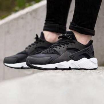 Giày Nike Huarache đen trắng 006