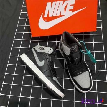 Giày Nike Jordan 1 phối màu xám đen