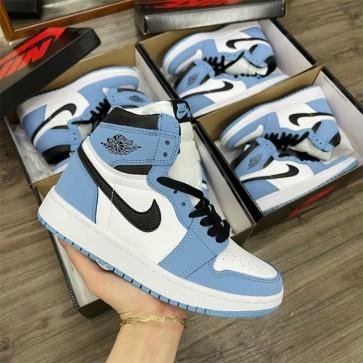 Giày Nike Jordan 1 Blue xanh replica