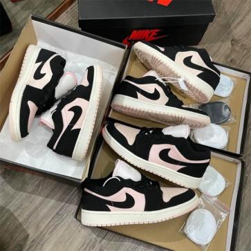 Giày nike Jordan đen hồng rep