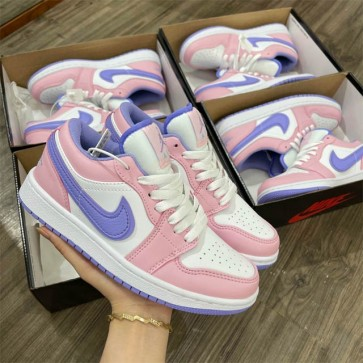 Giày nike jordan hồng phấn