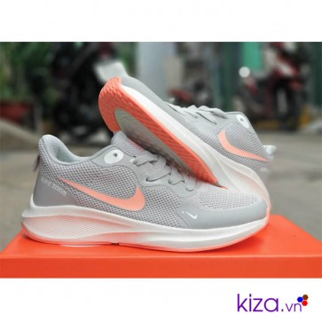 Giày Nike Zoom nữ Pegasus xám cam