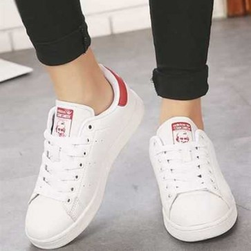 Giày Adidas Stan Smith Trắng đỏ 004
