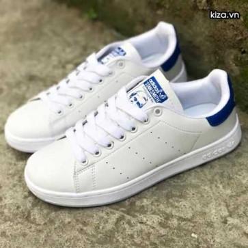 Mua Giày Adidas Stan Smith Trắng xanh navy 0077