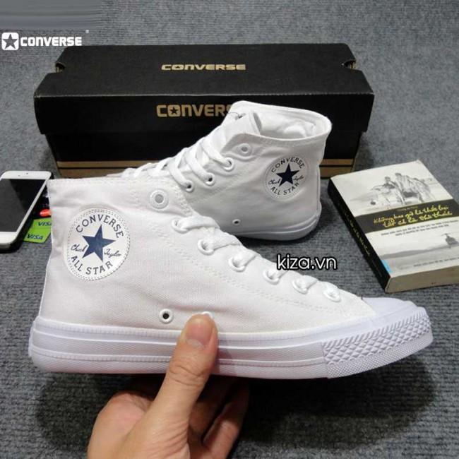 33eb49802 Giày converse chuck taylor 2 màu trắng cổ cao 33