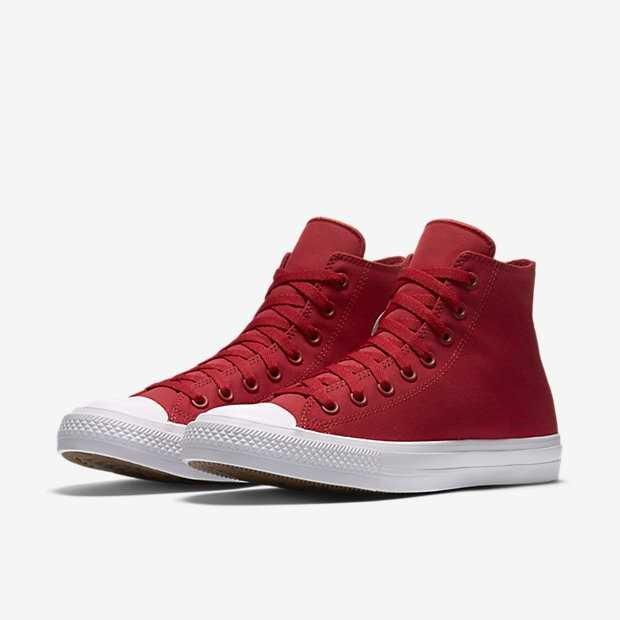 fe3fe5705 Giày converse chuck taylor 2 màu đỏ cổ cao 44