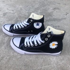 Converse 1970s đen cao cổ hoa cúc 1