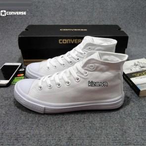 Giày converse chuck taylor 2 màu trắng cổ cao 44