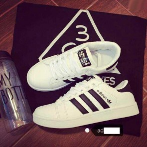 Mua Giay adidas trang soc den 00499
