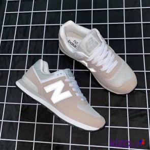 Giày New Balance 574 màu xám hồng