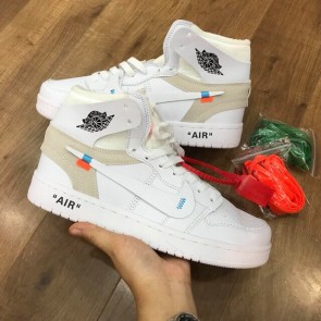 Giày nike Jordan Off White Trắng-01