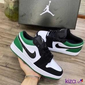 Giày Nike Jordan Trắng Xanh Rep