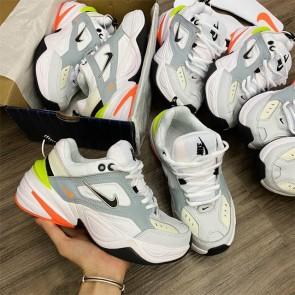 Giày Nike M2K Trắng Xám Cam