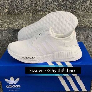 giay adidas nmd mau do màu trắng full dep