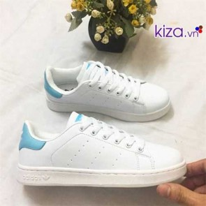Giày Adidas Stan Smith xanh dương nhạt 33