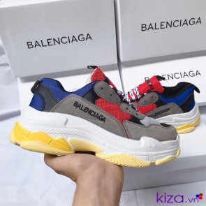 Giày Balenciaga Triple S Xanh Đỏ