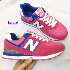 Giày new balance 574 màu hồng đẹp