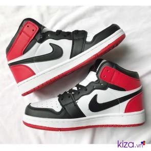 Giày Nike Jordan màu đỏ trắng giá rẻ 001