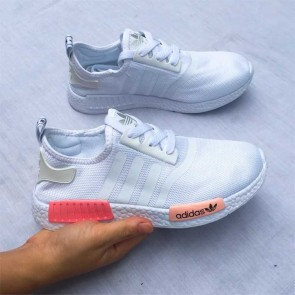 Giày Adidas NMD phối màu trắng cam giá rẻ 001