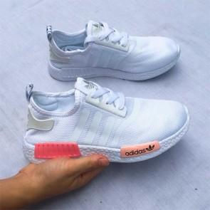 Giày Adidas NMD phối màu trắng cam giá rẻ 001