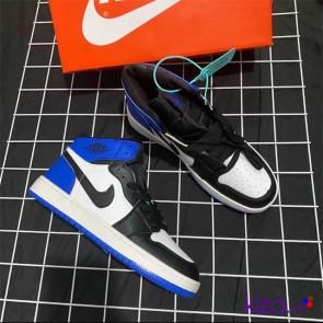 Giày Nike Jordan 1 phối màu xanh trắng đen đẹp giá rẻ