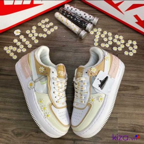 Giày Nike Air Force 1 Shadow hoa cúc Rep