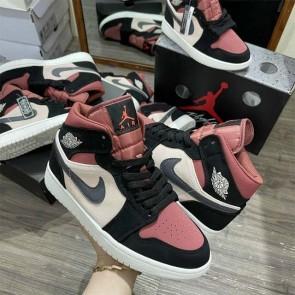 Jordan đen đỏ mận