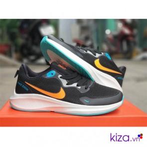 Giày Nike Zoom nữ Pegasus Đen đế xanh
