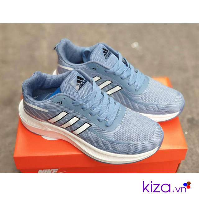 Adidas Zoom nam màu xanh