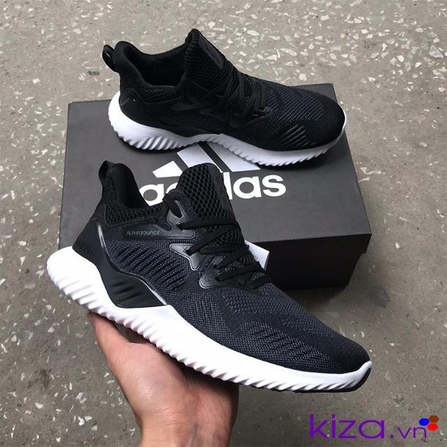 Giày adidas nam Alphabounce đen