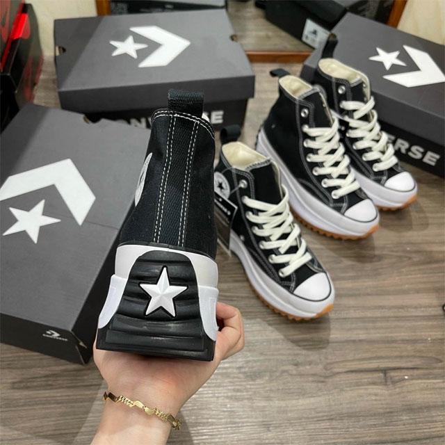 Phần gót giày converse run star hike