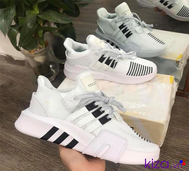 Giày adidas EQT trắng phản quang
