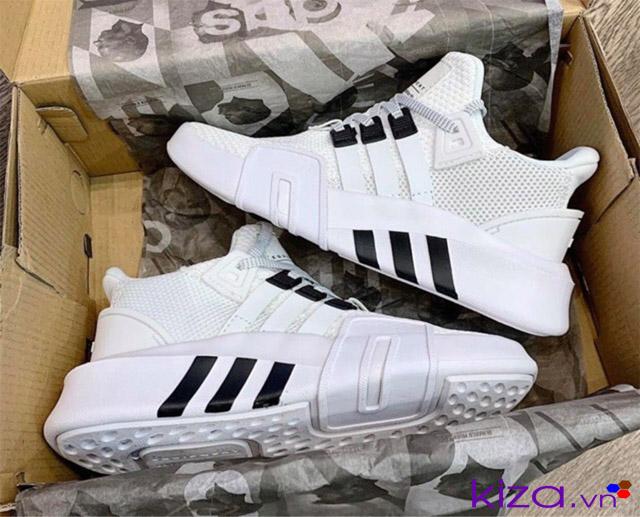 Giày EQT trắng phản quang