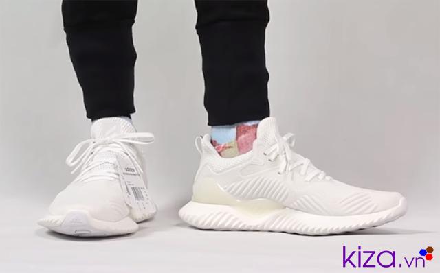 Giày Adidas Alphabounce trắng rep
