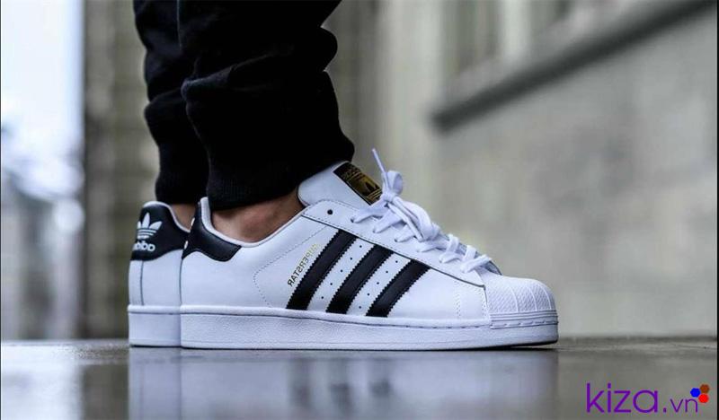 Giày Adidas nam Super Star sò